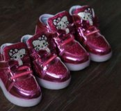Новые кроссовки с подсветкой!