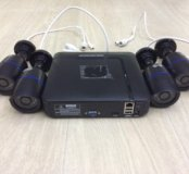 Видеонаблюдение, камеры и регистратор