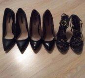 Туфли Zara и босоножки