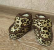 Ботиночки детские на меху
