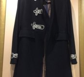 Демисезонное пальто 100% шерсть+🎁
