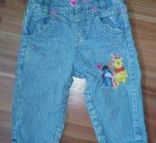 Детские джинсы дисней