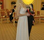 Платье белое свадебное красивое
