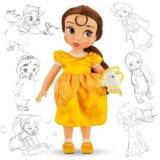 Кукла-аниматор Белль(Бэль).Дисней оригинал.Новая!