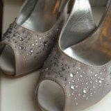 Туфли текстильные Италия , новые