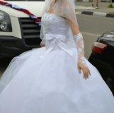 Свадебное платье. Корсет