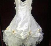 Новое бальное платье пышное нарядное