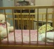 Продам кроватку детскую