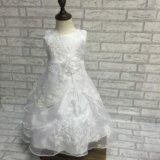 белое новое бальное платье грация пышное нарядное