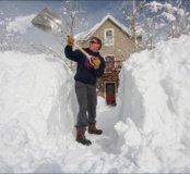 Уборка снега с крыши домов, сараев, гаражей, ангар