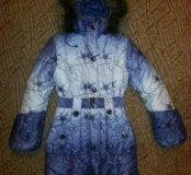 Пальто для девочки зима р.152