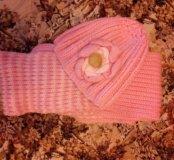 Детская Шапка шарф