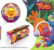 тролли Шоколадные шары Чупа Чупс Обмен или Продажа