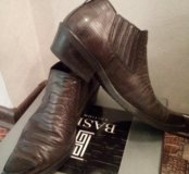 Ботинки кожаны мужские