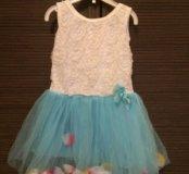 Новое платье снежинка на Новый год