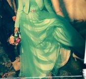 Платье+ фатин+ пиджак