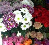 Цветы, букеты, комнатные цветы, подарки