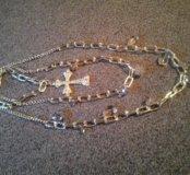 Подарок ожерелье бижутерия