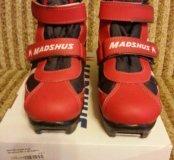 Лыжные ботинки р.31-32
