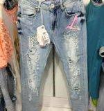 Новые джинсы RAW с туфелькой