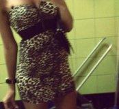 Леопардовое платье от Lime