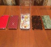 Чехлы для iPhone 4 (5 штук)