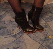 Ботиночки осенние 36-37размер
