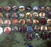 Жетоны Звездные войны,  вся коллекция