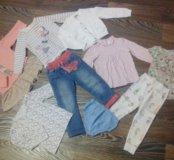 Фирменная одежда для принцессы от 1.5 до 3 лет