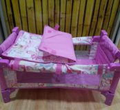 Кроватка-пеленальный столик
