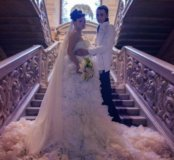 Платье вечернее свадебное прокат аренда