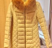 Зимняя куртка. Эко кожа