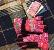 Перчатки детские новые