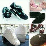 Зимние кроссовки New Balance, Nike