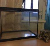 аквариум(домик для рыбок/черепахи в подарок)