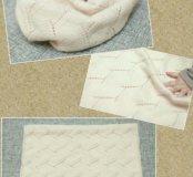 Снуд, шарф ручной вязки