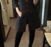 Пальто в составе 70 % шерсти