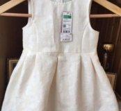 Новое платье Benetton 3-4 года