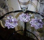 Салфетка, подставка под бокал, украшение для стола