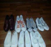Кожаные туфли, натуральная кожа