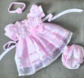 Праздничное платье 68-74