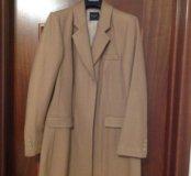Новое бежевое пальто