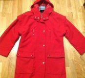 Новое красное пальто