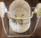 Качеля шезлонг для новорожденных