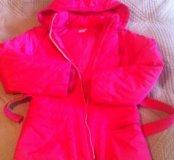 Куртка теплая на 12 лет