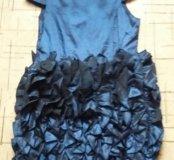 Праздничное платье на девочку от 9-12лет.