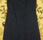 Платье синее.новое L.тел 89054789380