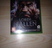 Коробка из-под игры Lords of the fallen.
