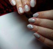 Покрытие ногтей гель-лаком.💅💅💅