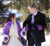 Шуба белая в прокат на свадьбу